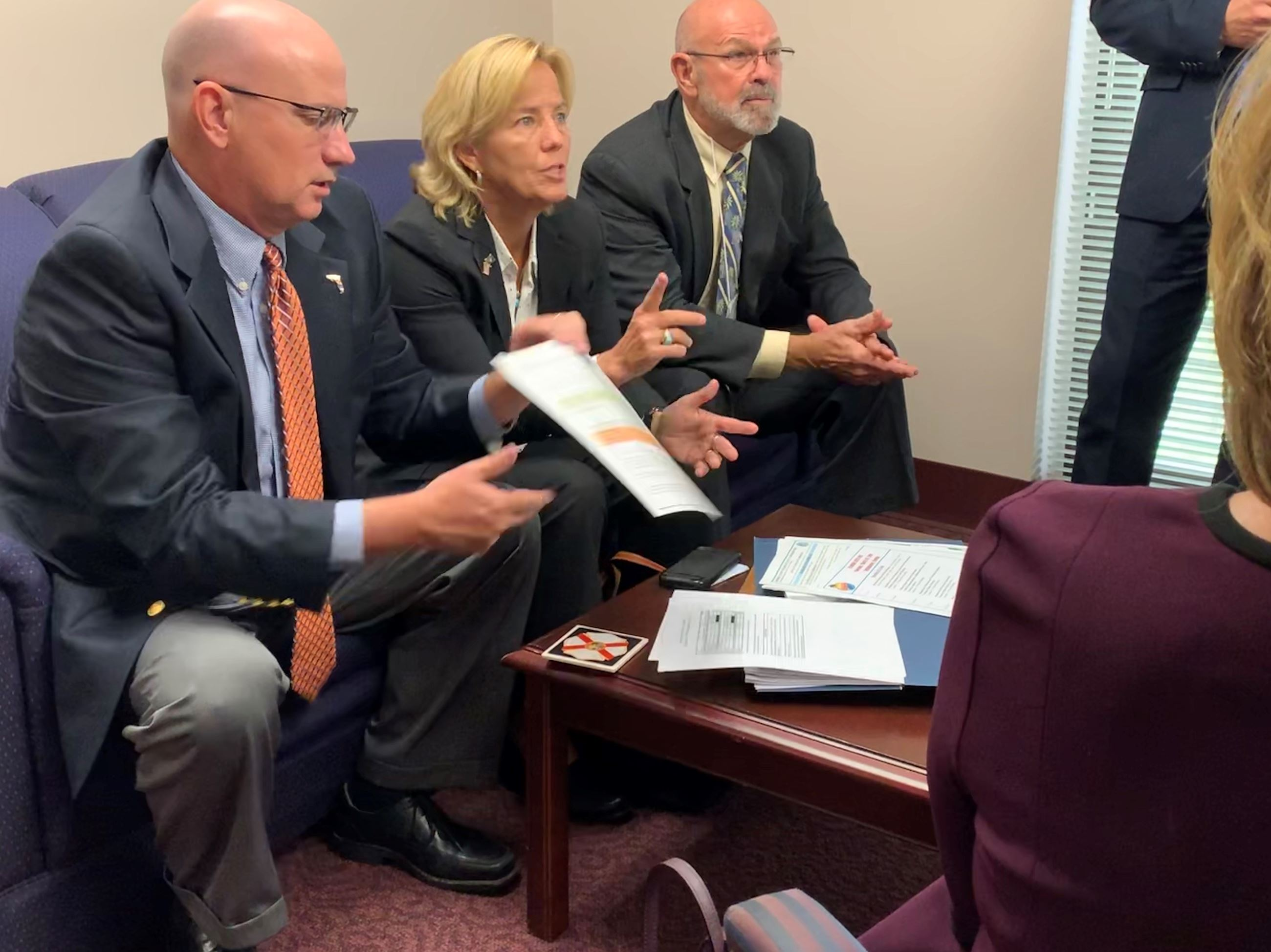 Legislative Affairs gives update to Florida House
