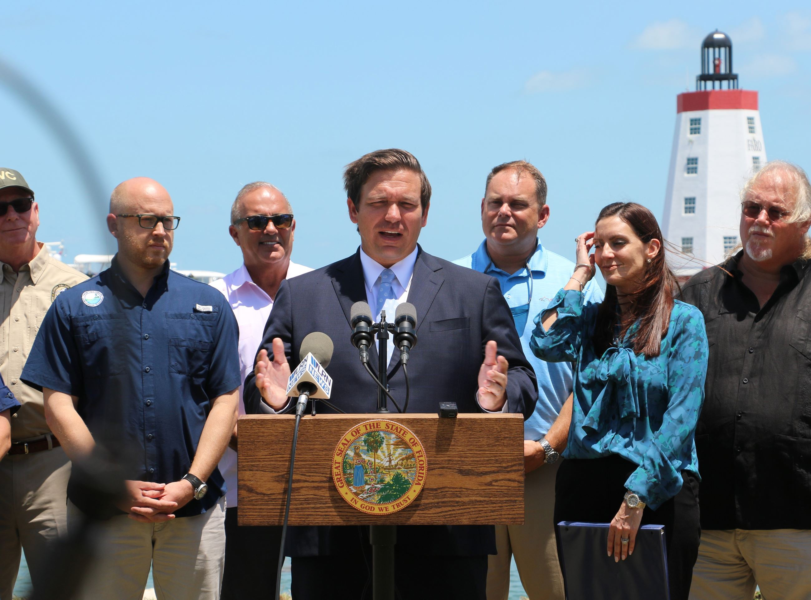 Governor Ron DeSantis Visits Monroe County